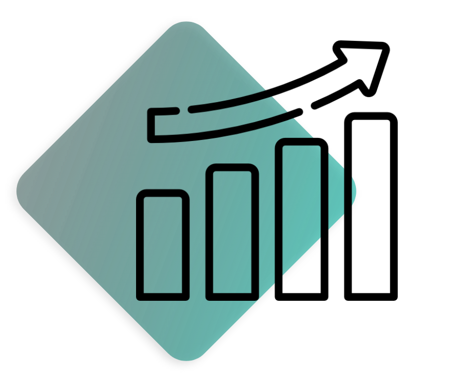 Mehr Umsatz Icon